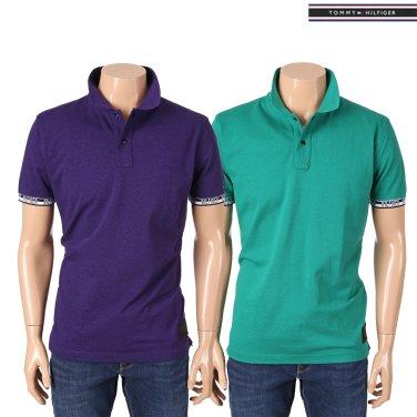 코튼 로고패치 반소매 폴로 티셔츠 TMMT1KTE34A0