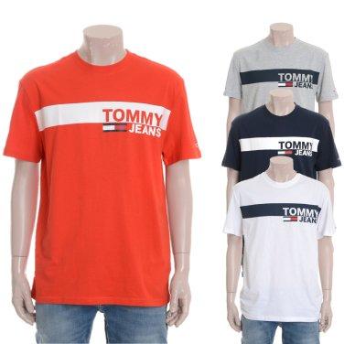 남성 코튼 로고 반소매 티셔츠 TJMT1KOE28A0