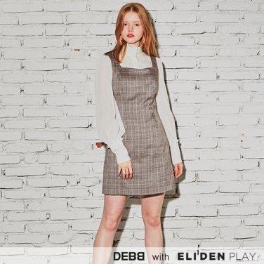 [뎁] 빈티지 체크 점퍼 드레스 (DACMA4012M)