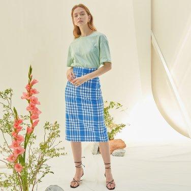 M Slit Long Skirt_BL