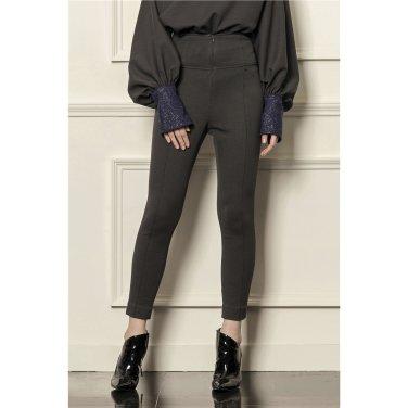 [까이에] High-rise slim-leg pants