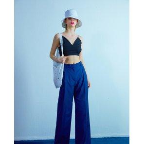 Wide pants 001 Navy