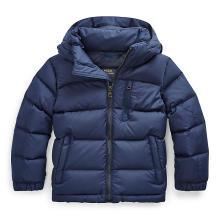 폴로 키즈 남아 5-7세 후드 다운 재킷(CWPOOTWB6010214B90)