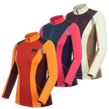 DWW14212 글라디[CLADI]여성 짚업 티셔츠