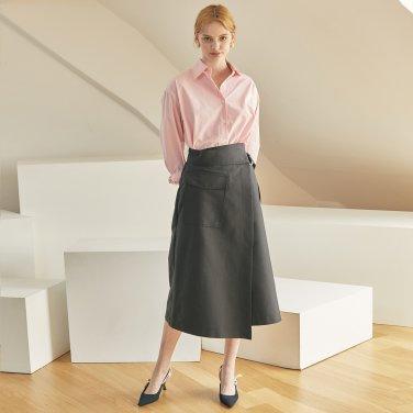 JE Pocket Wrap Skirt_BK