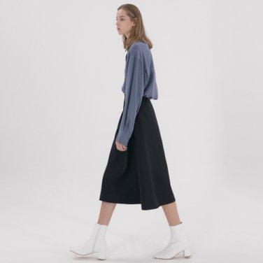 Wrap String Skirt - Navy
