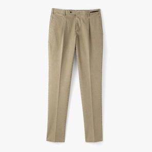 [PT01]SLIM FIT COTTON PANTS DARK BEIGE/PT91M30001A27