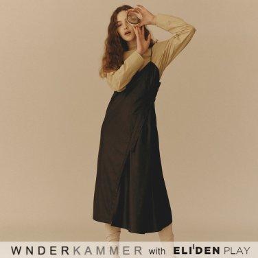 [분더캄머:WNDERKAMMER] Shirring Sleeve Blouse_Beige (WK9F9-SSSH010)
