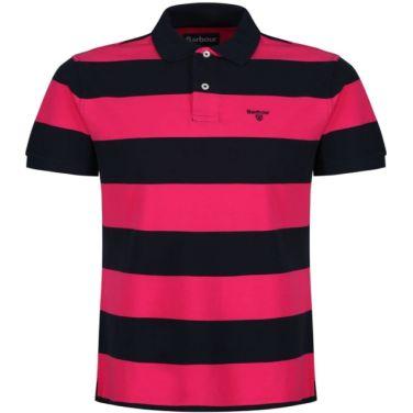 Harren Stripe Polo 하른 스트라이프 폴로 핑크(BAI1MML0998PI18)