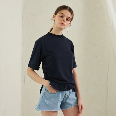 Ode Side T-Shirt _ Navy