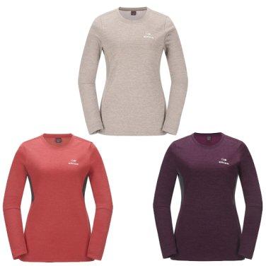 헤더 라운드 여성 티셔츠  / 긴팔티셔츠,등산티 (DWF17202)
