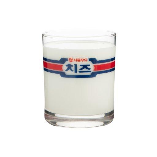 [무료배송]서울우유 레트로컵 - 서울우유치즈