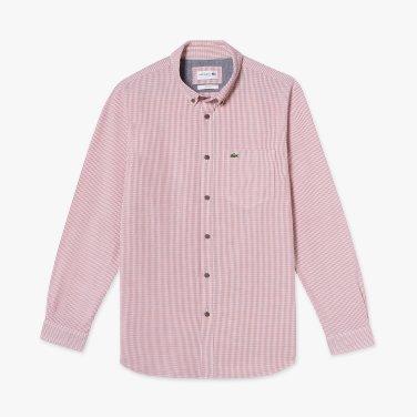 (남성) 옥스포드 체크 슬림 셔츠(CH7093-19A_7CQ)