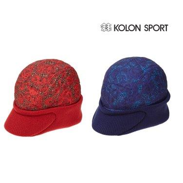 (코오롱스포츠) 여성 BASKET CAP (QYREW17033RBU,RED)