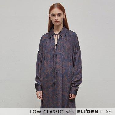 [로우클래식] 19SS PRINT BELT LONG DRESS - PHYTON (Z3LCI5DR003.DNY)