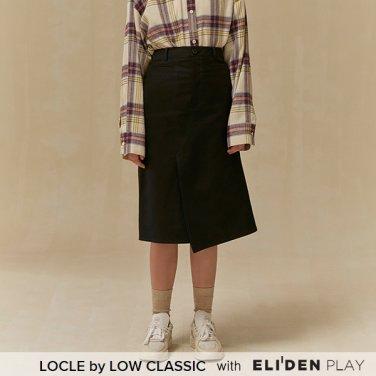 [로우클래식] 19 FALL LOCLE Unbalance skirt_black (Z3LCI6SK101)