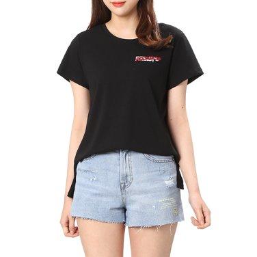 레터링 프린트 티셔츠 7158240202