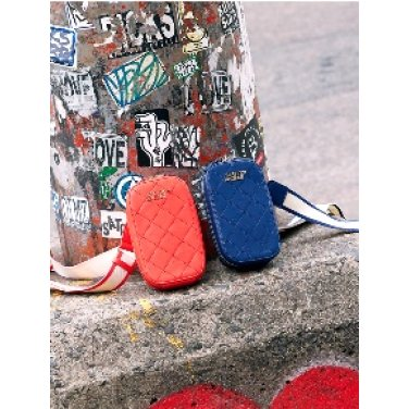 (SUMR12911X-BL) WAFFLE HANDY BAG