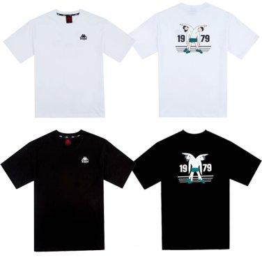 롯데백화점 40주년 콜라보레이션 1979 반팔 티셔츠 KKRS359MN