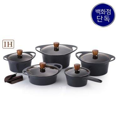 IH 아르마이드 블랙에디션 냄비 5종세트