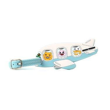 KAKAO FRIENDS 2 FLYING FRIENDS 캐리어 네임택 BLUE / WHITE GD131011
