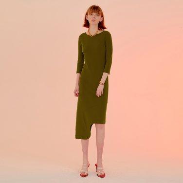 Rindi Line Point Dress_Herb Green (JC20SSOP30HG)