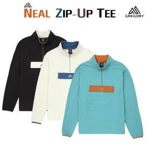 그레고리 닐 집업 티셔츠 3가지 컬러 - NT3203 19FW 집업 티셔츠