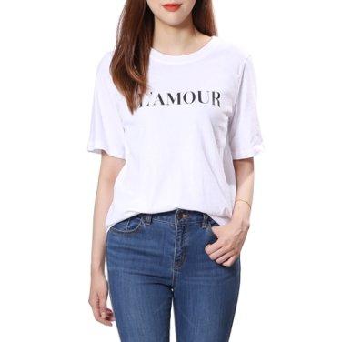 라모르 면 티셔츠 (OW9AE134)