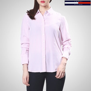 TFMT1HCE80A0(비스코스 스트라이프 긴소매 셔츠)
