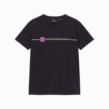 시즈널 로고 루즈핏반팔 티셔츠 4WF9K195-007