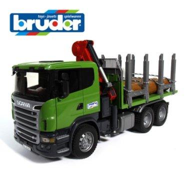 [브루더] 스카니아 임업트럭 BR03524