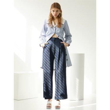 [에프코코로미즈] wide denim pants