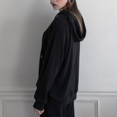 Merino Nano Natural Hood Black(2019SSTS320_06)