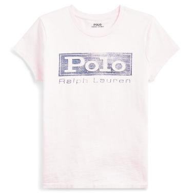 폴로 랄프 로렌 로고 저지 그래픽 티셔츠(WMPOKNINN810225D53)