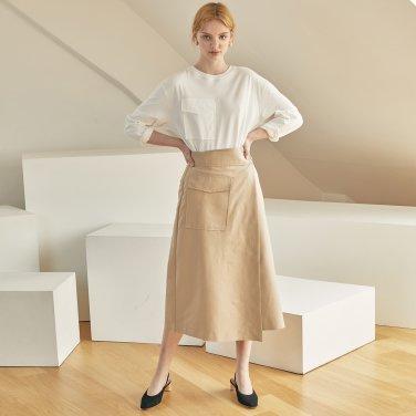 JE Pocket Wrap Skirt_BE