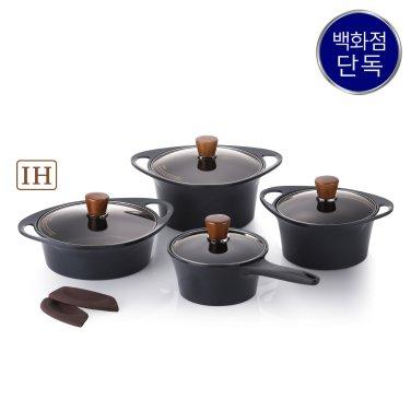 IH 아르마이드 블랙에디션 냄비 4종세트