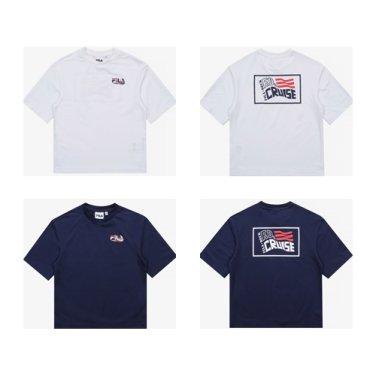아쿠아타임라운드 티셔츠/FK2RSB2605M