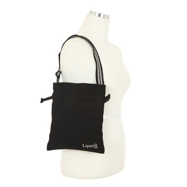 미니 에코백 AZ001035 블랙 버킷 파우치 도트 숄더 가방