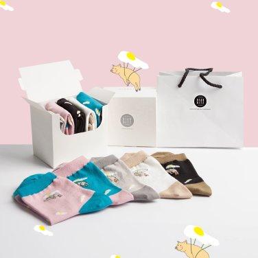 스카이픽 패션양말 5족 선물세트