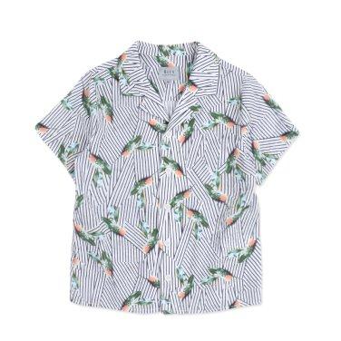 BT25BL01WT 남아 하와이안 셔츠