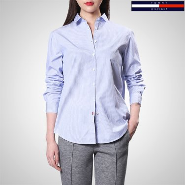 TFMT1HCE06A0(코튼 레귤러핏 스트라이프 셔츠)