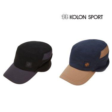 (코오롱스포츠) 남녀공용 윈드스토퍼 FLAP CAP (QEREW17031BLK,DTE)