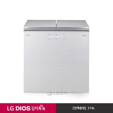 DIOS 뚜껑식 김치냉장고 K228AW11E (219L/아리아화이트)