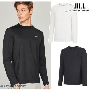 JMTS0B321 [AIR-Long T] 화이트 로고프린트 남성 긴팔티셔츠