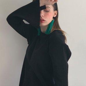 Merino Nano Natural Tshirts Black(2019SSTS320_05)