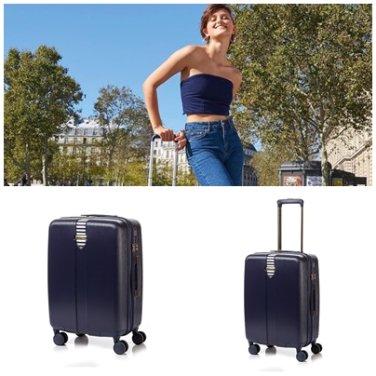 캐리어 GR561001 블루 HARDSIDE AVENUE 20인치 확장형 하드 여행 가방