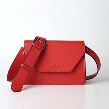 clover cross bag (red) - D1006RE