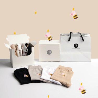 허니픽 패션양말 4족 선물세트