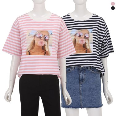 소녀 프린팅 티셔츠 ZW9ME5200