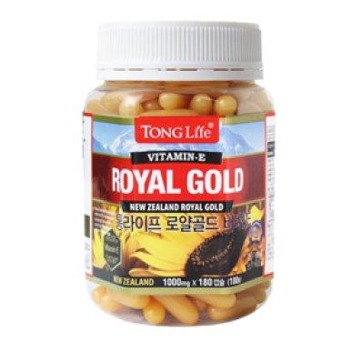 통라이프 로얄골드 비타민E 1000mg x180캡슐